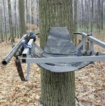 High Point Treestand Gun Holder Clam On