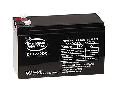 Powerstar 12V 7AMP Rechargeable Battery