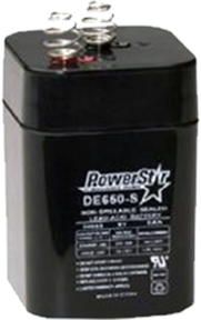 * Powerstar 6V 5AMP Rechargeable Battery