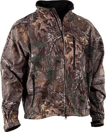 Browning Wasatch Soft Shell Jacket Breakup Country Large