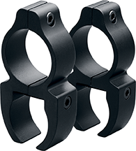 Leupold Rifleman Rimfire Rings See-Thru 3/8 in. Matte Black
