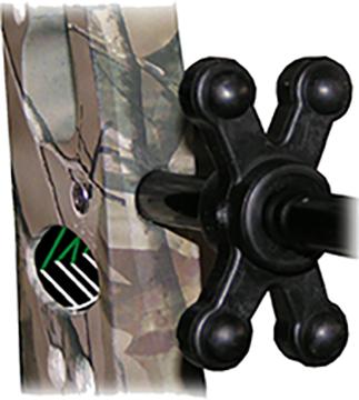 Bow Jax Slim Jax Cable Rod Dampener Black