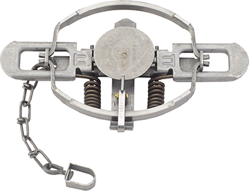 Duke Coil Spring Trap Offset Jaw No. 3