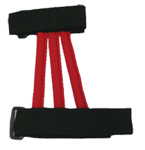 Youth Web Armguard Red