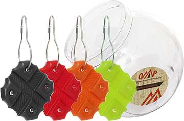 OMP Flex-Pull Counter Display Assorted 10 pk