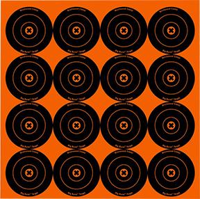 "BC Big Burst 3"" Targets"