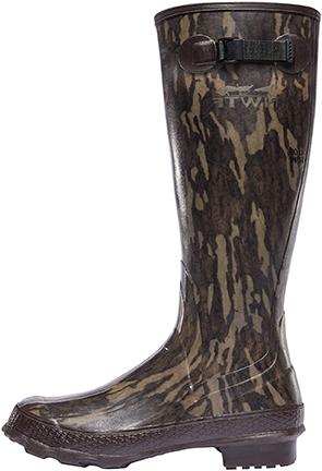 "Lacrosse Grange 18"" Boot NWTF Mossy Oak Bottomland Size 8"