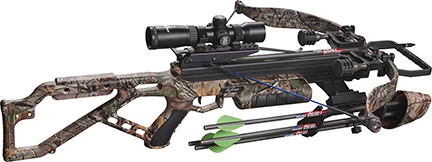 18 Micro 355 Crossbow w/Tact Zone L.S.Package Xtra Camo