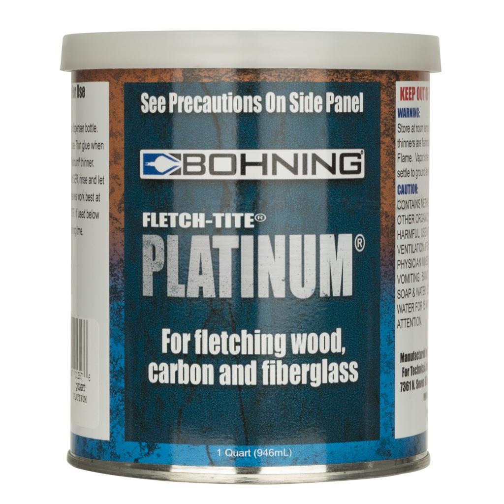 * Bohning Fletch-Tite Platinum 1 qt.
