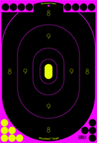 BC Shoot NC Pink 12x18 Silhouette Target
