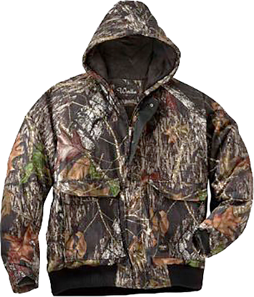 Youth Insulated Hooded Jacket Mossy Oak Country Small