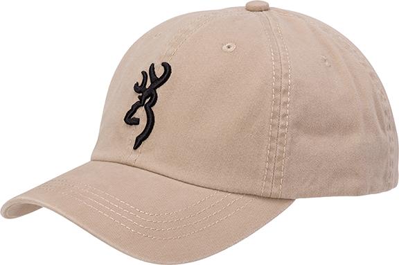 Browning Ace Buckmark Cap Khaki