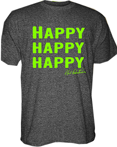 Duck Dynasty S/S Shirt Happy Happy Happy Large
