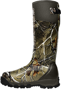 "Alpha Burly Pro 18"" Realtree Xtra Green Boots Size 12"