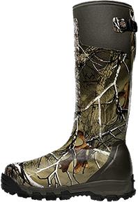 "Alpha Burly Pro 18"" Realtree Xtra Green Boots Size 9"