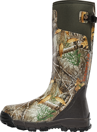 "Alpha Burly Pro 18"" 400g Boot Realtree Edge Camo Size 9"