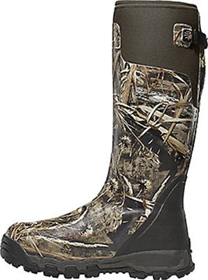 "Alphaburly Pro 18"" 800gr Boot Realtree Max 5 Size 10"