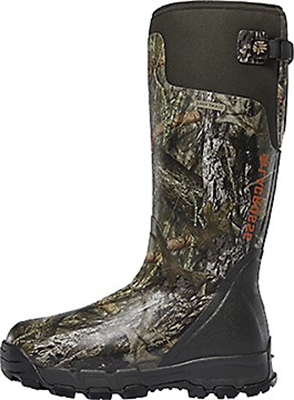 "Alphaburly Pro 18"" 1000gr Boot Mossy Oak Country Size 9"