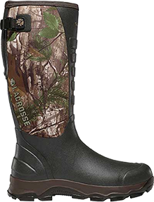 """Lacrosse 4X Alpha 16"""" Boot Realtree Xtra Green Size 9"""
