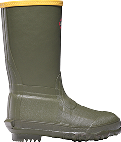 LaCrosse Lil Burly Youth Boot Green 5