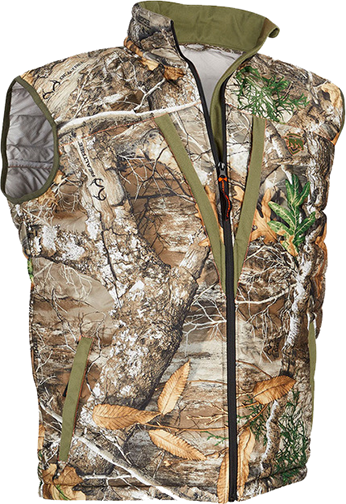 Heat Echo Loft Vest Realtree Edge Camo Large