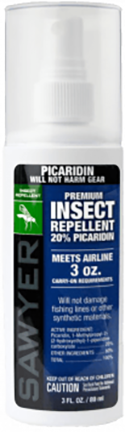 * Sawyer Premium Insect Spray 3oz-20% Picaridin