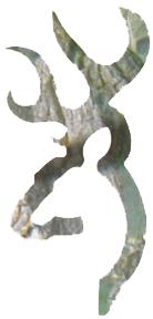 Browning Buckmark Camo Decal