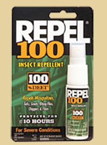 * Repel 100% Deet Pump 1oz
