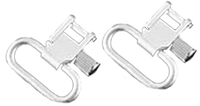 "Mikes QD SS CL Nickel Plated 1"" Swivel    QDSSBL"