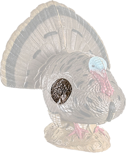 Replacement Insert Woodland Strutting Turkey