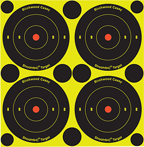 "BC Shoot NC 3"" Bullseye 150 Target"