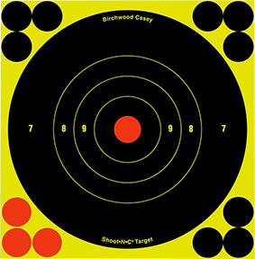 "BC Shoot NC 12"" Bullseye Target"