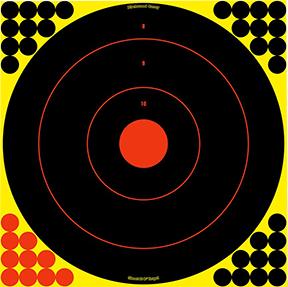 "BC Shoot NC 17.25"" Bullseye Target"