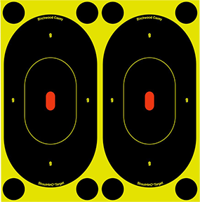 "BC Shoot NC 7"" Silhouette Target"