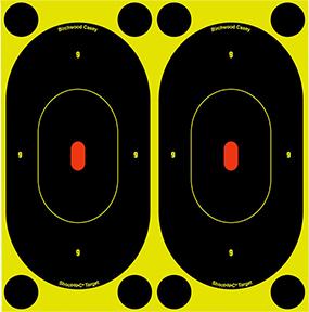 "BC Shoot NC 7"" Silhouette Target"
