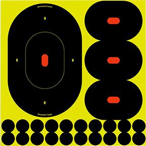 "BC Shoot NC 9"" Silhouette Target"