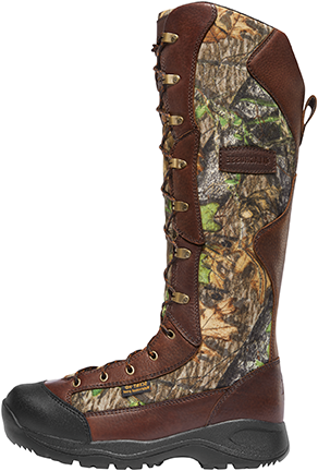 "Lacrosse Venom 18"" Boot NWTF Mossy Oak Obsession Size 12"