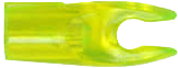 G 4mm Pin Nock Large Groove Lemon Lime Compound