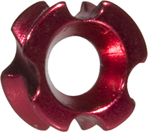 OMP TriView Peep Red 1/8 in.