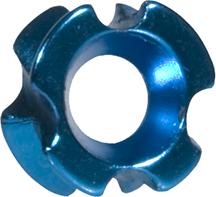OMP TriView Peep Blue 1/4 in.
