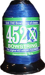 452X Bowstring Material Blue 1/8# Spool