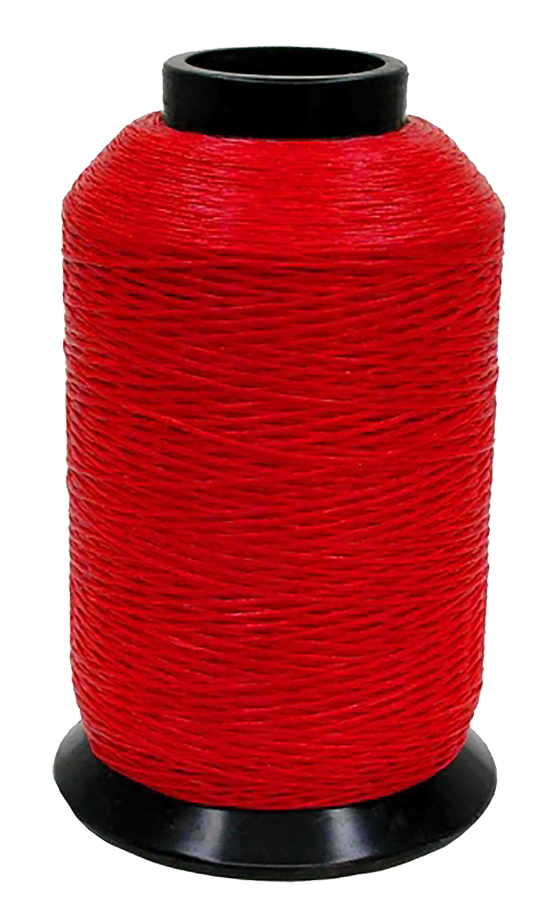 452X Bowstring Material Red 1/8# Spool