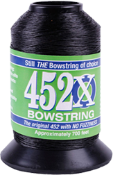 452X Bowstring Material Black 1/8# Spool