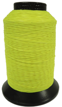 452X Bowstring Material Flo Yellow 1/8# Spool