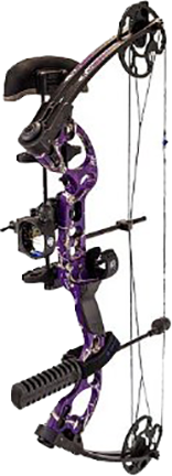 "Quest Radical Realtree Purple Bow Package LH 25"" 40#"