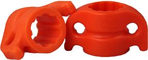 """AMS 5/16"""" Safety Slide Orange"""