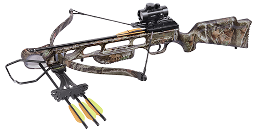 16 Centerpoint XR175 Camo Crossbow Package