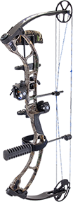 "18 Quest Storm Package Realtree Xtra Left Hand 23"" 60#"