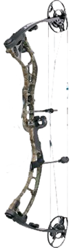 """18 Quest Amp Bow Xtra Camo/ Black Right Hand 29"""" 70#"""