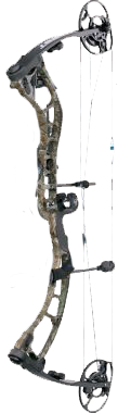 "18 Quest Amp Bow Xtra Camo/ Black Left Hand 29"" 70#"